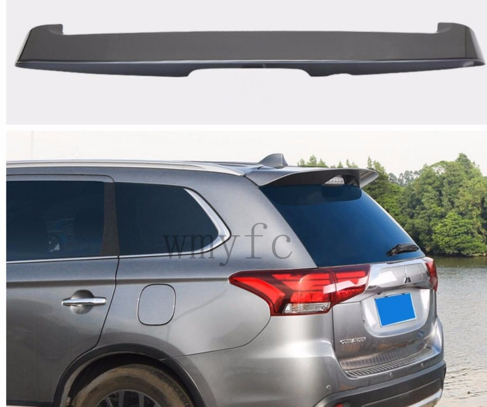 Car Styling Hot ABS Plastic Rear Trunk Boot Lip Wing Rear Spoiler For new Mitsubishi Outlander  2016 2017 2018