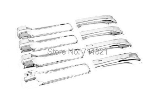 Chrome Door Handle Cover For Jeep Grand Cherokee 2005-2010