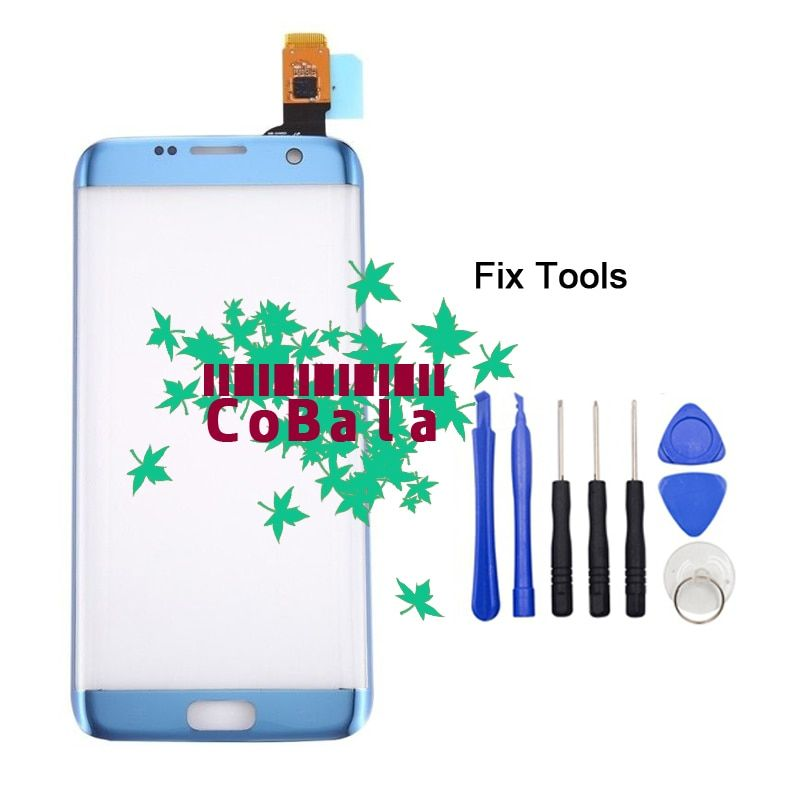 LOVAIN 1Pcs Tested For Samsung Galaxy S7 Edge G935 G935F 5.5 Touch Screen Digitizer LCD Outer Panel front glass+Tools