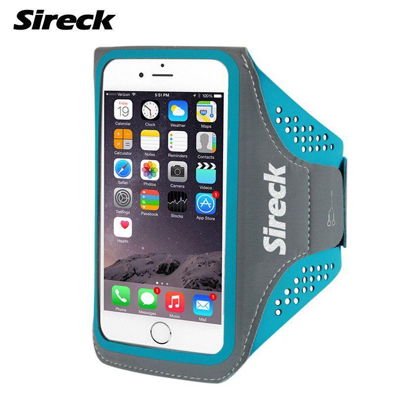 Sireck de Course Sac Étanche Sport Bras Sac 5.0 ''5.8'' Téléphone Cas de Remise En Forme Gym Sac Jogging Bras Ceinture Poche Accessoires de course