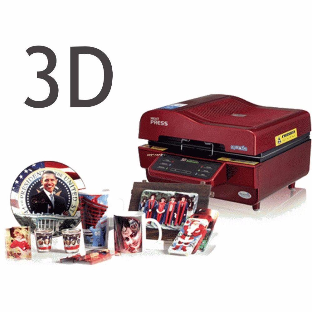 3D Sublimation Wärme Drücken Drucker Vakuum Ofen Wärme Presse Transfer Maschine DIY Telefon Fall Platten Tassen ST-3042