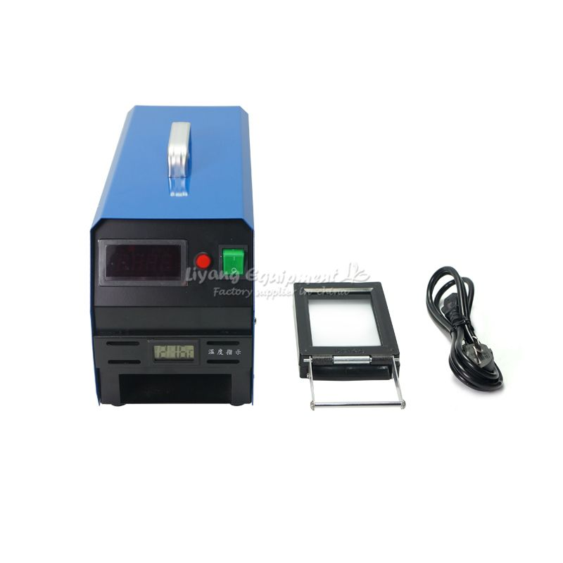 LY P30 Digital Temperature control flash rubber stamp making machine & photosensitive seal machine