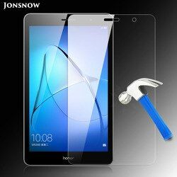 С уровнем твердости 9 H закаленное Стекло для huawei MediaPad T3 7 3g версия защищают от царапин планшетный ПК ЖК-дисплей Экран протектор JONSNOW