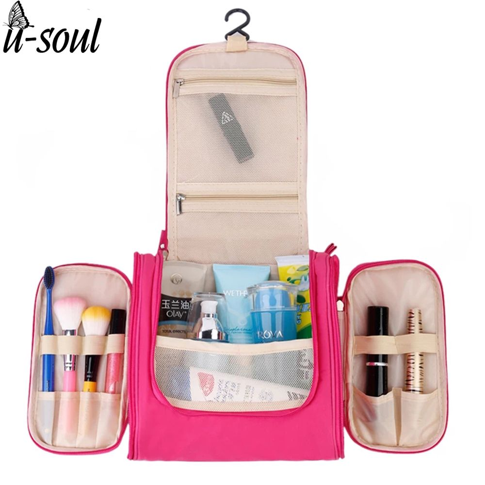 Voyage organisateur sac unisexe femmes cosmétique sac suspendu voyage maquillage sacs lavage de toilette kits de stockage sacs SC0362S