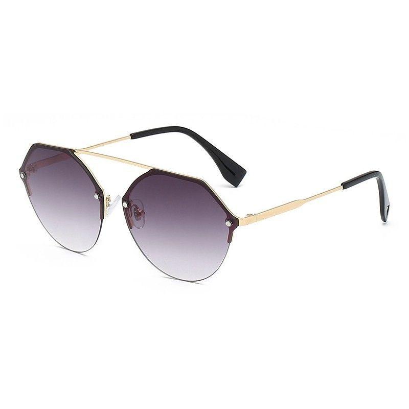 2019 nouveau Design hexagone lunettes de soleil femmes rétro Vintage clair lunettes de soleil dames surdimensionné nuances lunettes de soleil femme