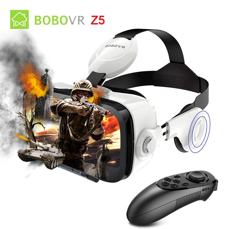 Xiaozhai Bobo VR Z4 Очки с Bluetooth Remote Google cardboard box Pro для iPhone Android-смартфон 2017 Biocular погружения