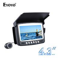 Eyoyo оригинальная 15м подводная камера для рыбалки камера рыбоискатель подводная рыбалка 4.3