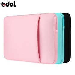 New Soft Zipper Laptop Sleeve Bag Protective Notebook Case Computer Cover for 11 14 15.6 inch For Laptop Notebook
