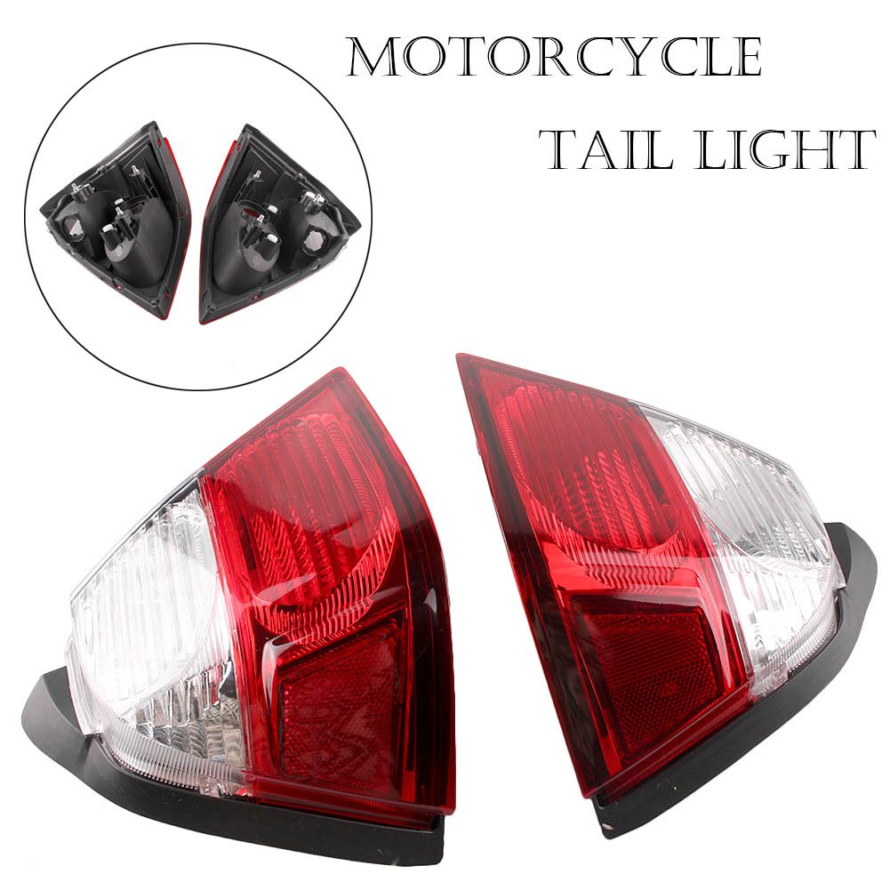 Motorcycle Taillight Rear Tail Light Turn Signals Lamp Assembly For Honda Goldwing GL1800 GL1800 2006-2011 2PCS E-Mark Blinker