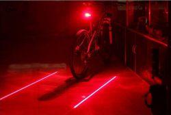 5 светодиодный фонарь для велосипеда 2 лазеры задняя велосипедная фара задние фонари для горного велосипеда Лампа для велосипеда аксессуар...