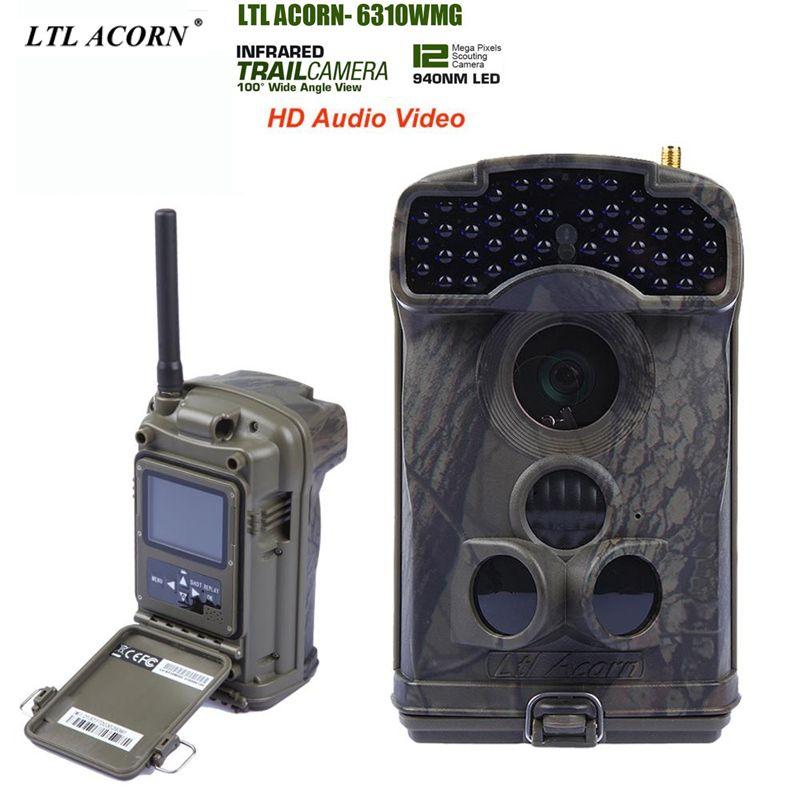 LTL ACORN 6310MG Photo Traps gsm mms Camera Trail Camera with Remote Control 44pcs LED 940NM Hunting Camera Digital Camera