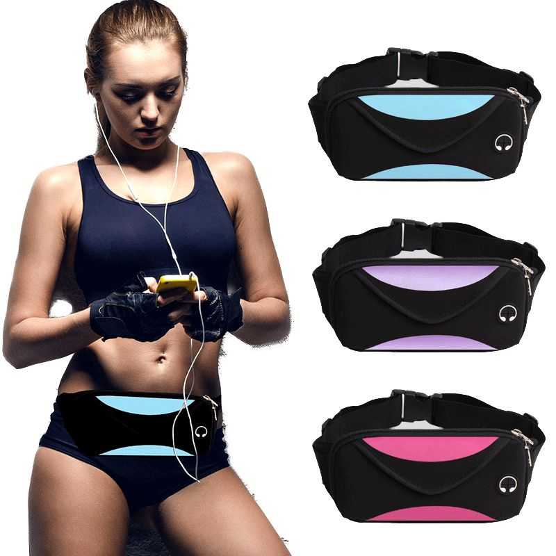 Fashion men waist pack waist bag unisex waterproof fanny pack women belt bum bag male phone wallet Pouch Bags