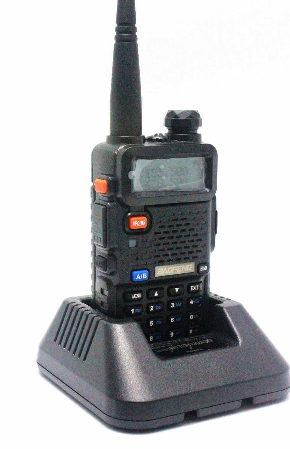 BaoFeng UV-5R Walkie Talkie 136-174 /400-520Mhz VHF/UHF DUAL-BAND Handy Hunting Radio Receiver With Headfone