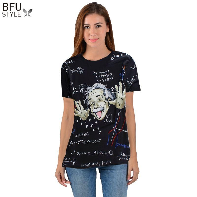 Mathematik Wissenschaft T-shirt Für Jungen/mädchen Grafik 3d T-shirt Männer/frauen Lustige Drucken Einstein T-shirt Casual Tops große Größe Shirt Herren