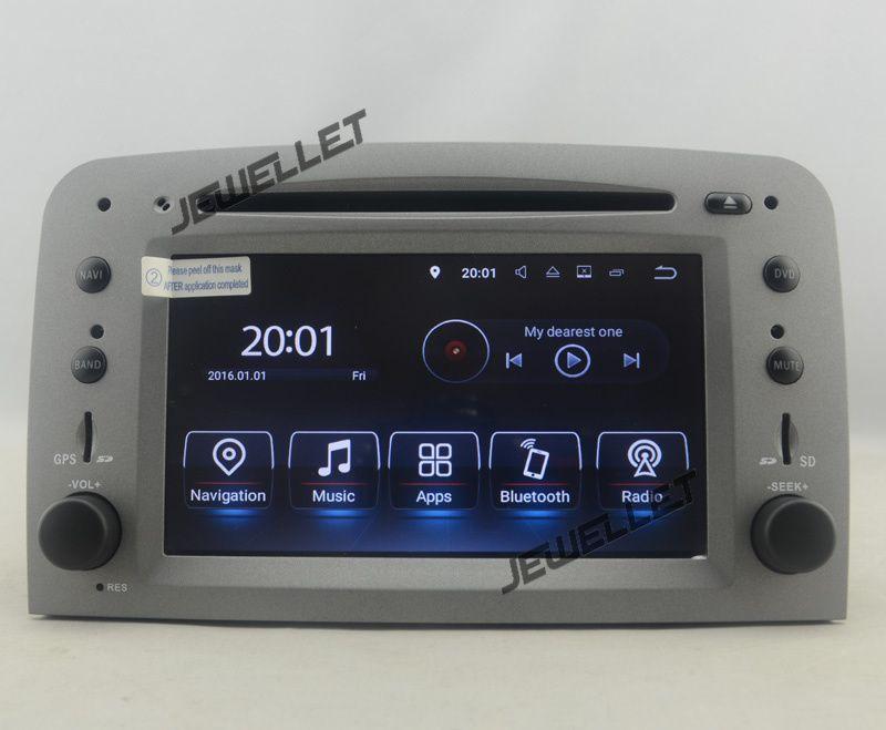 Quad core Android 7.1 Auto DVD GPS radio-Navigation für Alfa Romeo 147 GT mit 4g/Wifi DVR OBD spiegel link 1080 p