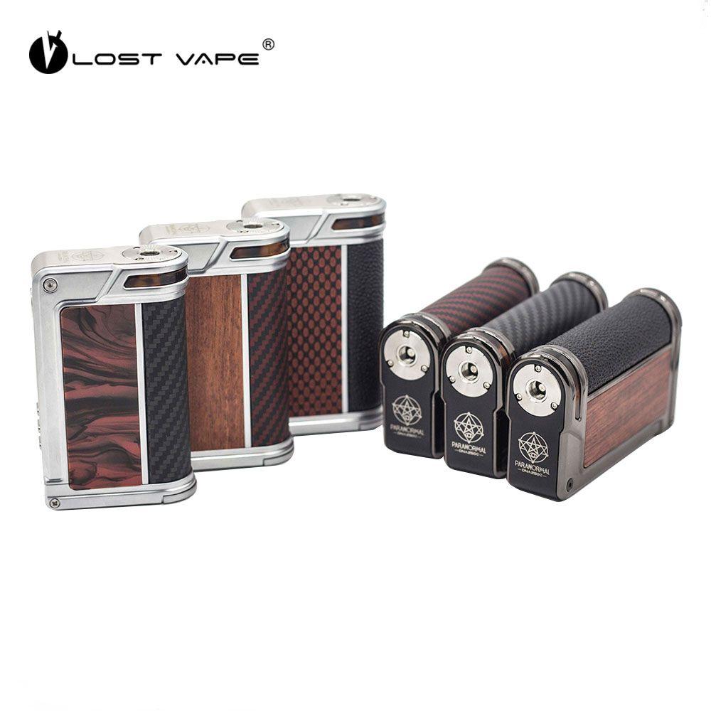 Neue Original VERLOREN VAPE Paranormale DNA250C box mod 200 watt DNA250 Wiederholen Elektronische Zigarette Vape Mod Angetrieben Durch Dual 18650 batterie