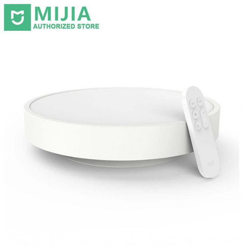 New Original Xiaomi Yeelight Smart Ceiling Light Lamp Remote Mi APP WIFI Bluetooth Control Smart LED Color IP60 Dustproof