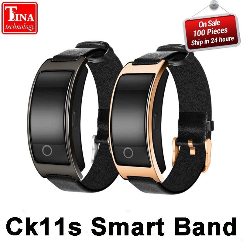 CK11S Smart Band Blood Pressure Heart Rate Monitor Wrist Watch Intelligent Bracelet Fitness Bracelet Tracker <font><b>Pedometer</b></font> Wristband