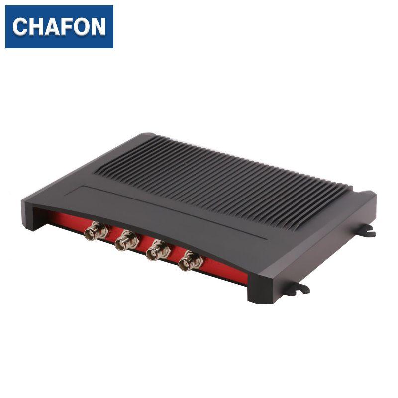 Impinj R2000 fest uhf rfid reader 4 ports mit RS232 RS485 RJ45 (TCPIP) usb-schnittstelle bieten kostenlose SDK für sport timing system