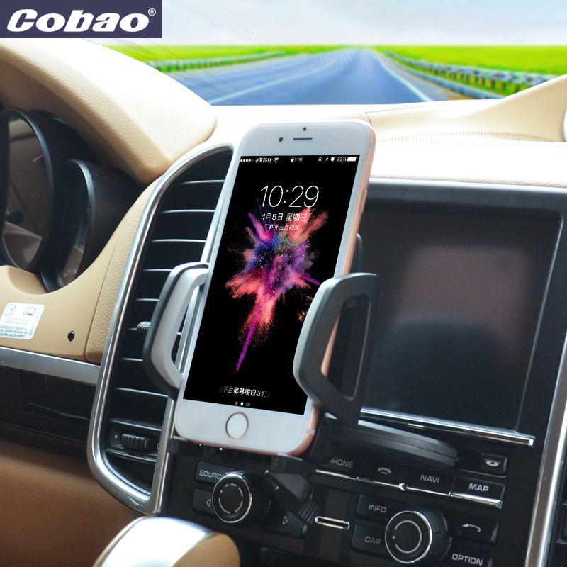Universal Auto Voiture CD Slot Téléphone Titulaire Cobao Réglable Cellulaire Mobile Détenteurs de Téléphone pour iPhone 6 Pour Samsung Téléphone Titulaires