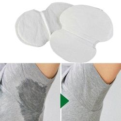 12 Pc Femmes Hommes D'été Jetable Aisselles Aisselles Tapis Absorbant Anti Transpiration Déodorant Nouvelle Bonne Qualité