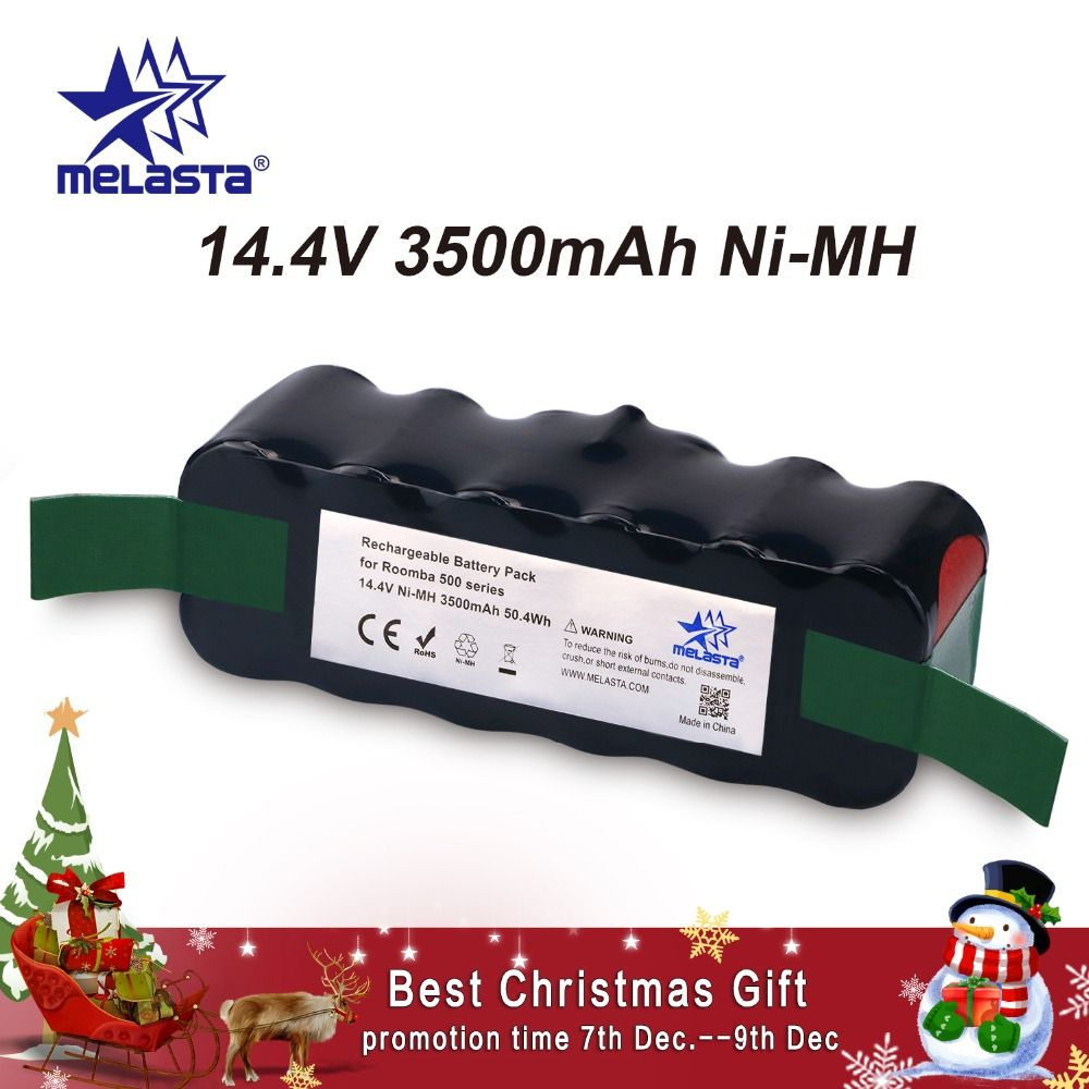 Updated Capacity 3.5Ah 14.4V NIMH battery for iRobot Roomba 500 600 700 800 Series 510 530 550 560 620 650 770 780 870 880 R3