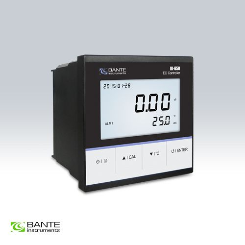 Marke BANTE Online Leitfähigkeit TDS EC Controller Monitor Meter Tester conductometer RS-485 4 ~ 20mA Relais alarm signal ausgang