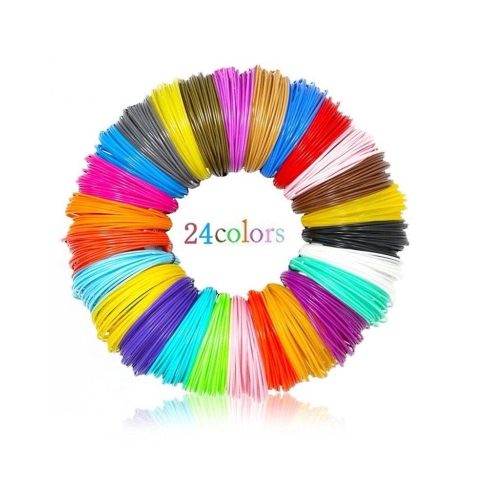 Dikale PLA Filament 120m 3D Printing Material 3D Pen Refill 1.75mm Filamento PLA No Smell For 3D Impresora Drawing Printer Penci