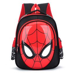 2018 3D 3-6 Year Old School Bags For Boys Waterproof Backpacks Child Spiderman Book bag Kids Shoulder Bag Satchel Knapsack