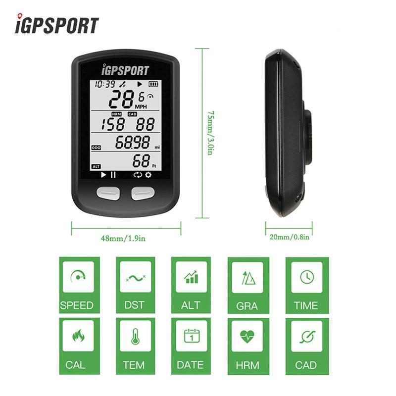 IGPSPORT IGS10 GPS FAHRRAD Computer Radfahren Drahtlose ANT + Tachometer Wasserdichten IPX6 Fahrrad USB Hintergrundbeleuchtung Bikes Sport Computer