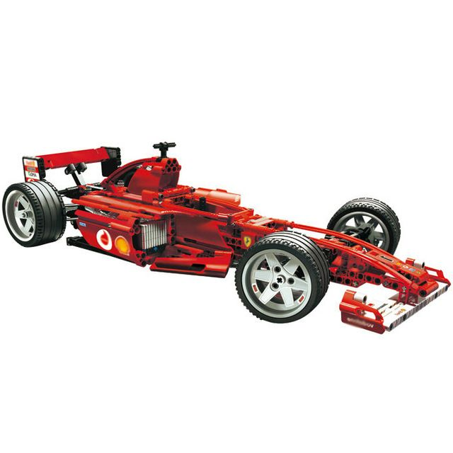 1242pcs F1 Racer building bricks blocks Toys for children Game Car Formula 1 Compatible with