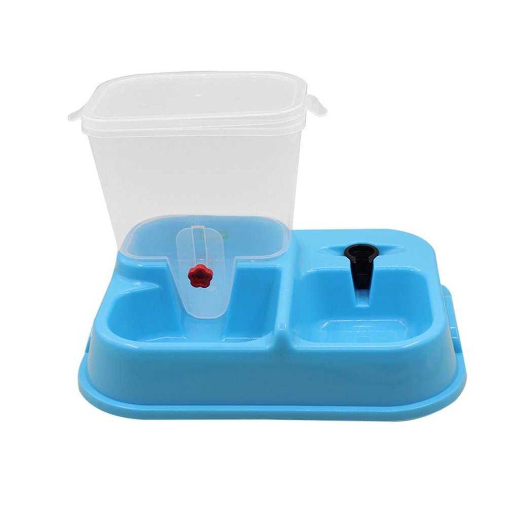 Автоматическая собака кошка подачи чаша прочный Пластик Еда напиток дозатор Кормление Cat собаки миска для воды 3 цвета