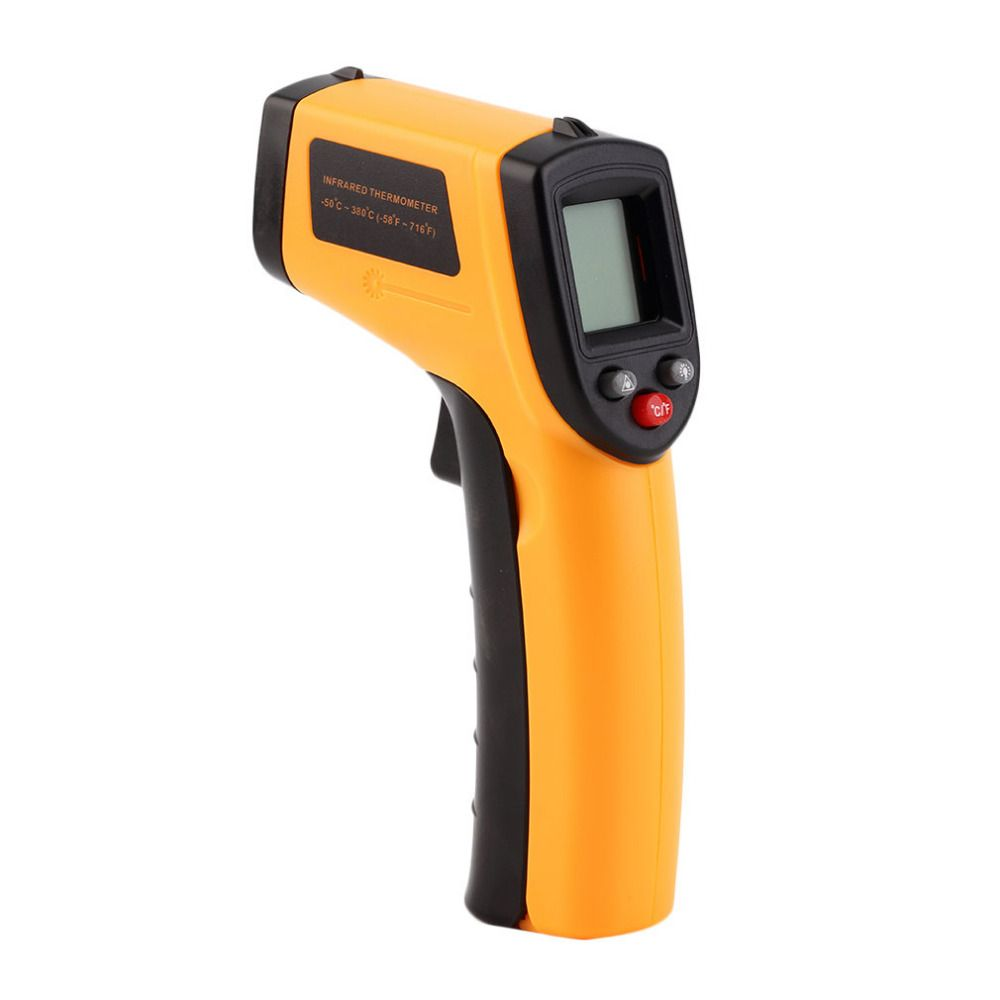 FGHGF GM320 -50~360C (-58~680F)  Non-Contact IR Infrared Digital Temperature Infrared Thermometer Laser Point Gun