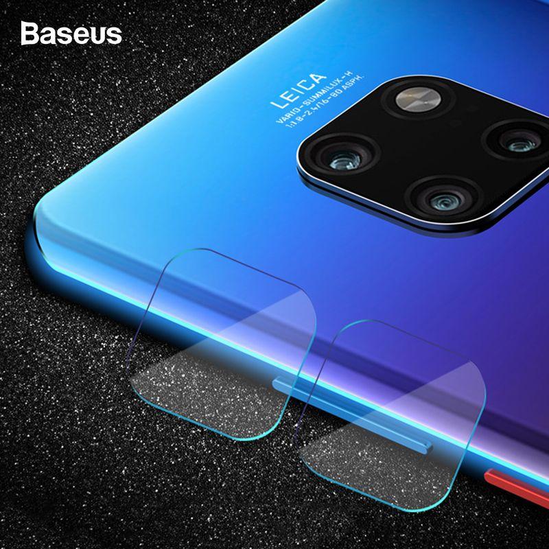 Baseus 0,2mm Gehärtetem Glas Kamera Objektiv Für Huawei Mate 20 Pro Zurück Kamera Glas Screen Protector Schutz Film Für mate 20