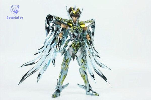 Auf lager Große Spielzeug Pegasus seiya V4 GT EX gott tuch EX metall rüstung bronze Saint Seiya action figure spielzeug