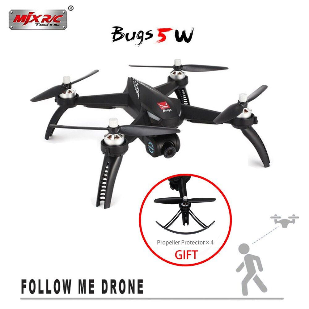 NEW MJX Bugs 5 W B5W Brushless Motor GPS RC Drone With 5G WIFI FPV Automatic adjustment camera RC Quadcopter VS X4 RC Helicopter