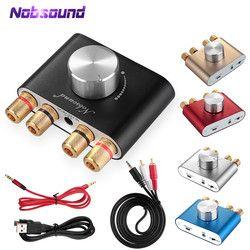2018 Baru Nobsound F900 Super Mini Bluetooth HIFI TPA3116 Digital Amplifier Stereo 2.0 Channel 50 W * 2 Daya Amp pengiriman Gratis