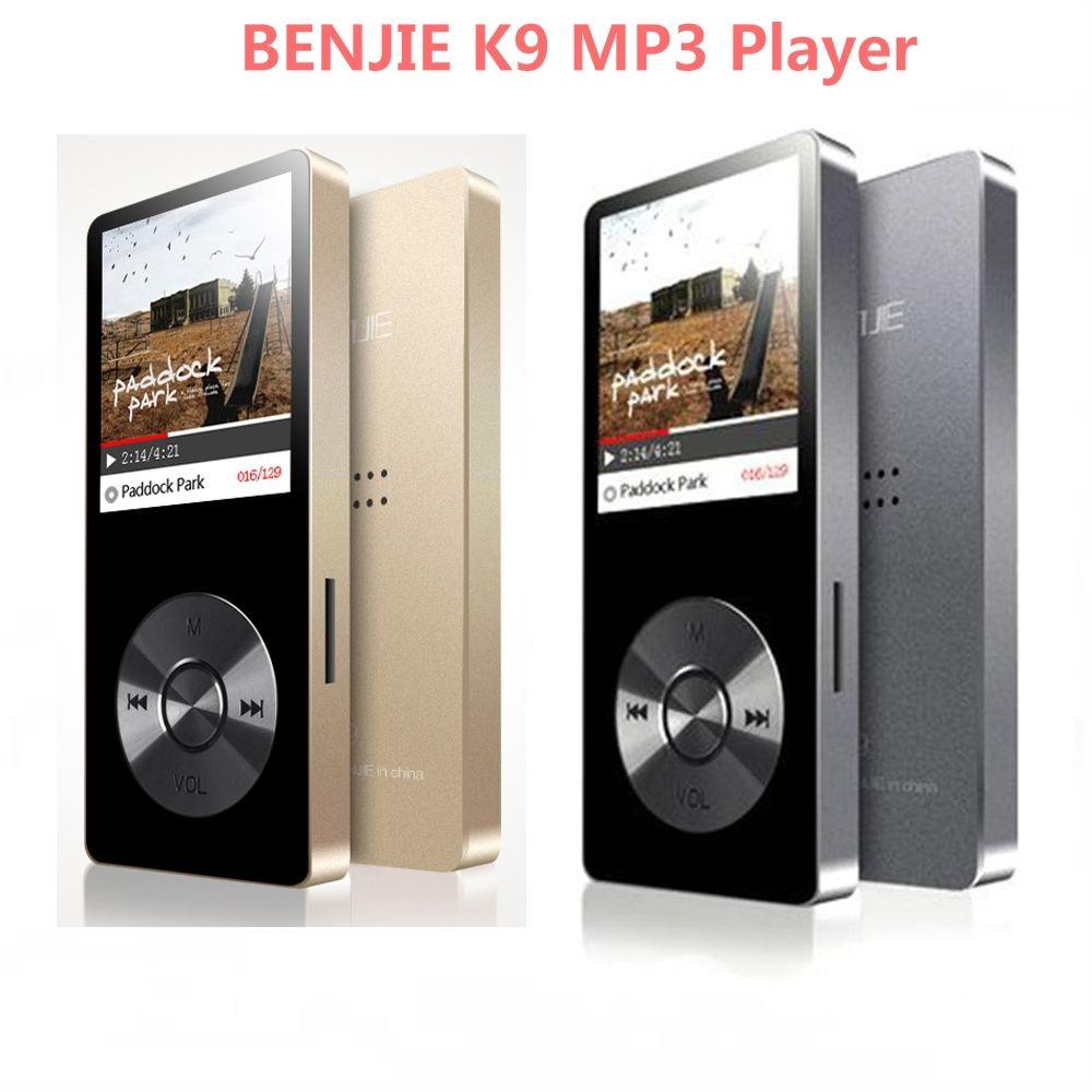 MP3 lecteur de musique alliage haut-parleur sport 8GB 1.8 pouces écran Original Benjie K9 haute qualité sans perte HiFi enregistreur vocal FM Radio