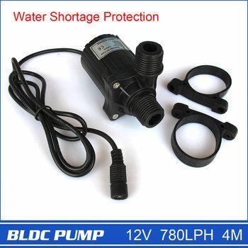Marque Nouvelle 12 V Micro Pompe avec DC Plug, forte 780LPH 4 M, noir, 230g, électrique Puissance, drop Shipping et Livraison Gratuite!