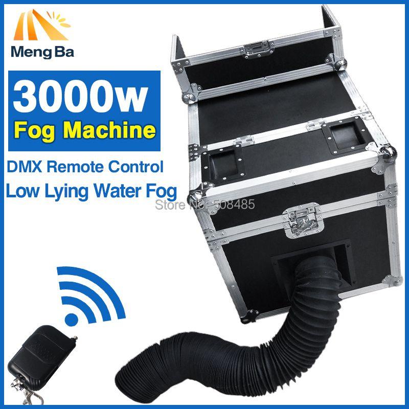 3000 Watt Wasser Nebelmaschine Wasser Rauch Mit DMX Fernbedienung Tief Liegenden Wasser Nebel Nebelmaschine Bühneneffekt