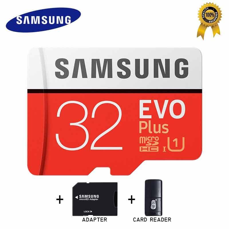 SAMSUNG Micro SD Carte 32 gb Carte Mémoire Carte Micro sd Tarjeta Micro Sd 64 gb 128 gb 256 gb C10 4KHD TF pour Téléphone Portable avec SDHCSDXC