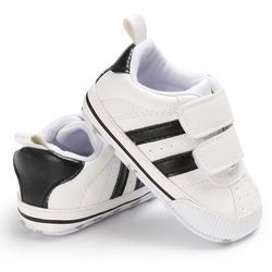 Infant Toddler Soft sole gancho prewalker sneakers bebé Patucos recién nacido a 18 meses