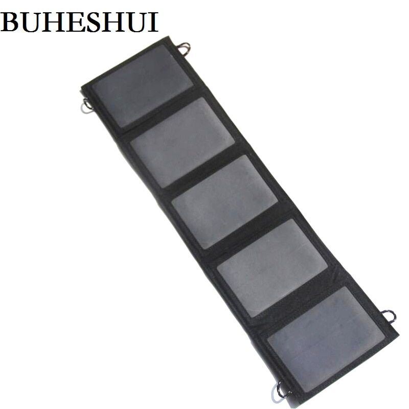 BUHESHUI Sunpower 10W Solar Panel Charger Solar Charger For Mobile Power Bank /iPhone High Efficiency
