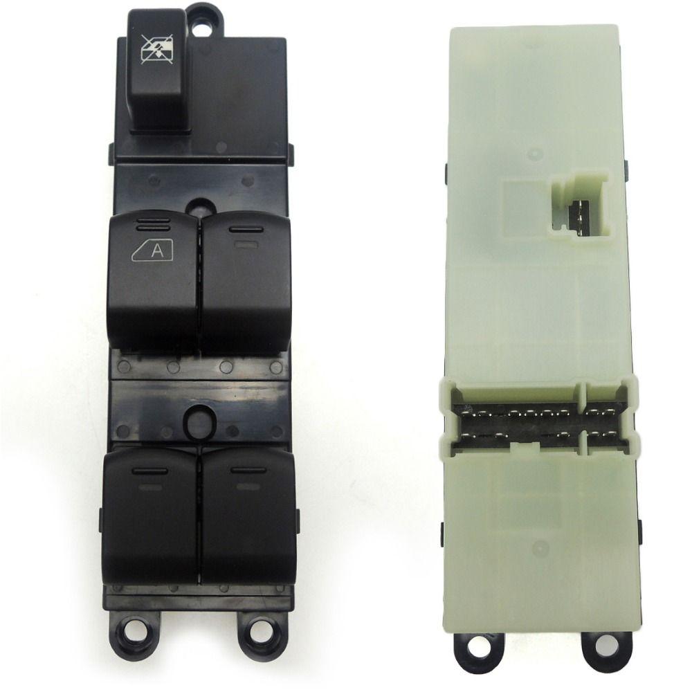 KEMiMOTO 25401-EB30B 25401EB30B Front Left Master Electric window lifter switch for Nissan Navara D40 04-16 25401-BB65B