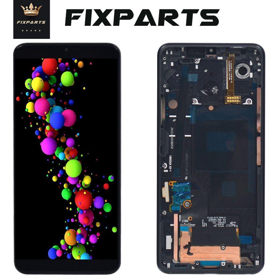 Original Bildschirm Für LG G7 ThinQ LCD Mit Lünette Rahmen G710EMW LCD DISPLAY + TOUCH SCREEN DIGITIZER MONTAGE Replacment G710EM + LCD