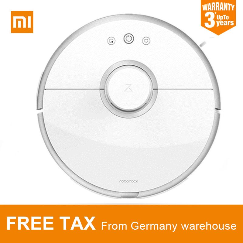 Original Xiaomi Roborock S50 S55 Robot Vacuum Cleaner 2 APP Control Dust Sterilize Smart Planned Sweeping and Wet Mopping