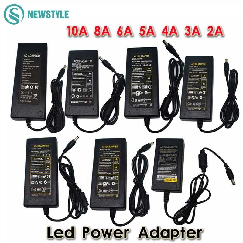 DC12V LED Power Supply LED Driver AC100-240V to 12V 24V Power Adapter Lighting Transformer for LED Strip Light