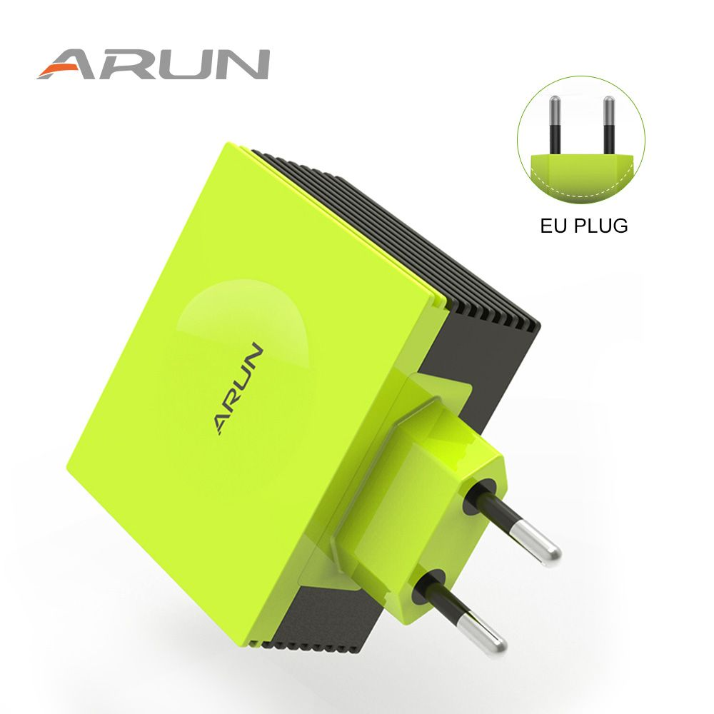 ARUN Colorful 4 Ports USB Quick Charge Multiple Charger Adapter For Phone7 Samsung S6 Smart Phones /PC/Mp3 & USB Mobile Devices