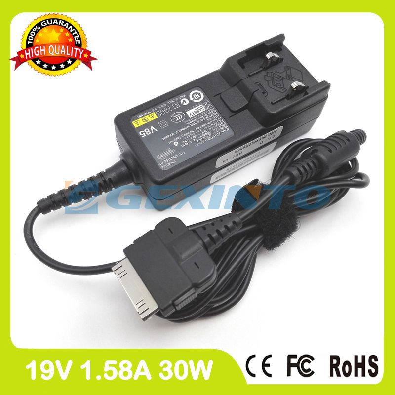 19V 1.58A 30W ac adapter ADP-30VH A CP568150-01 for Fujitsu LifeBook AH532/GFX LH532 tablet pc charger without ac plug