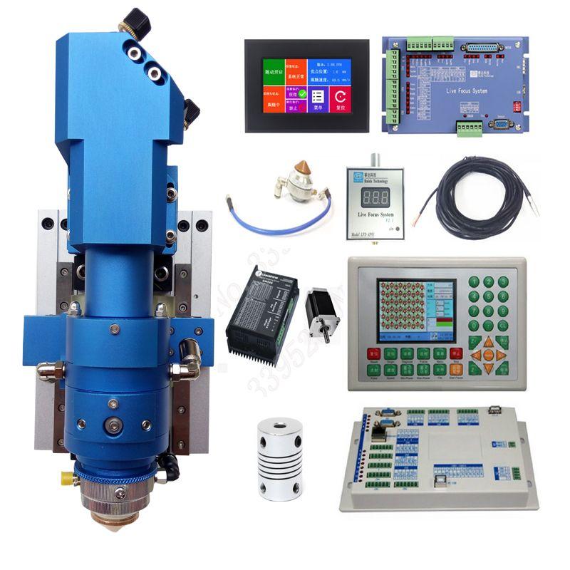 Automatische Fokussierung Ruida CO2 laser metall blatt und nicht metall gemischt schneiden system 130 w-500 w laser maschine
